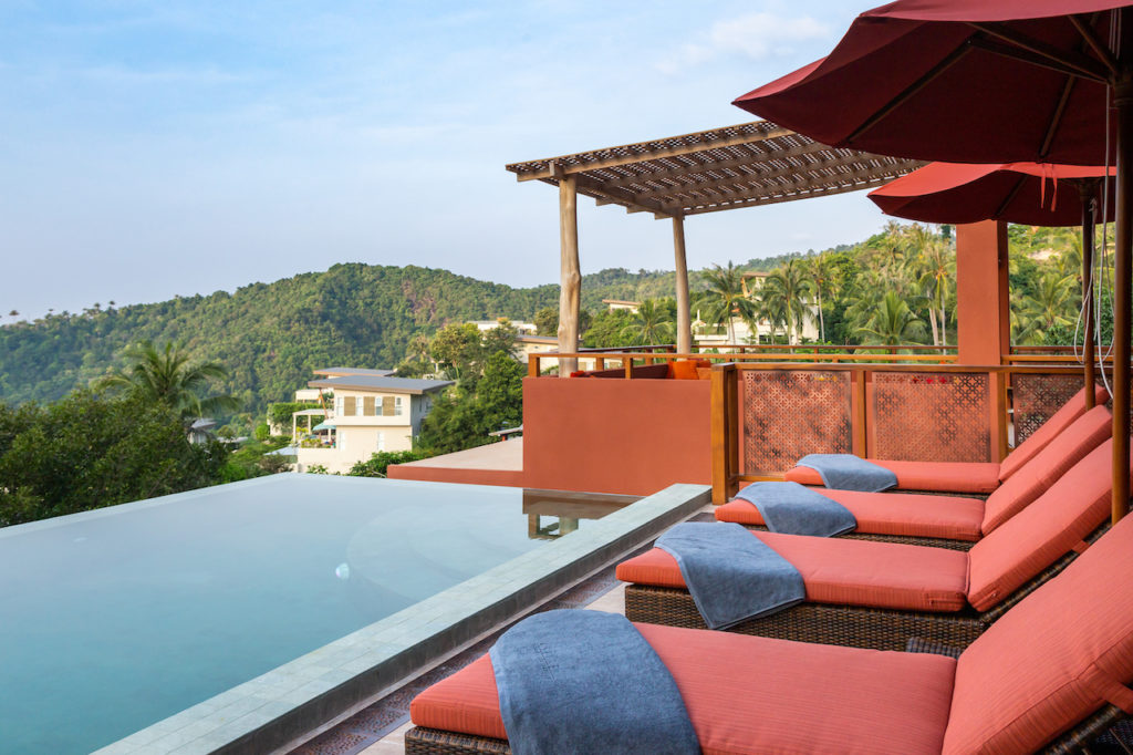Villas with a view for rent
